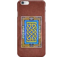 Celtic Lion Knot with Clover iPhone Case/Skin