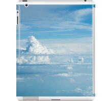 Distant storm clouds iPad Case/Skin