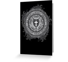 Luther Rose Christian Poster Greeting Card