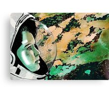 The First Lady in Space Canvas Print