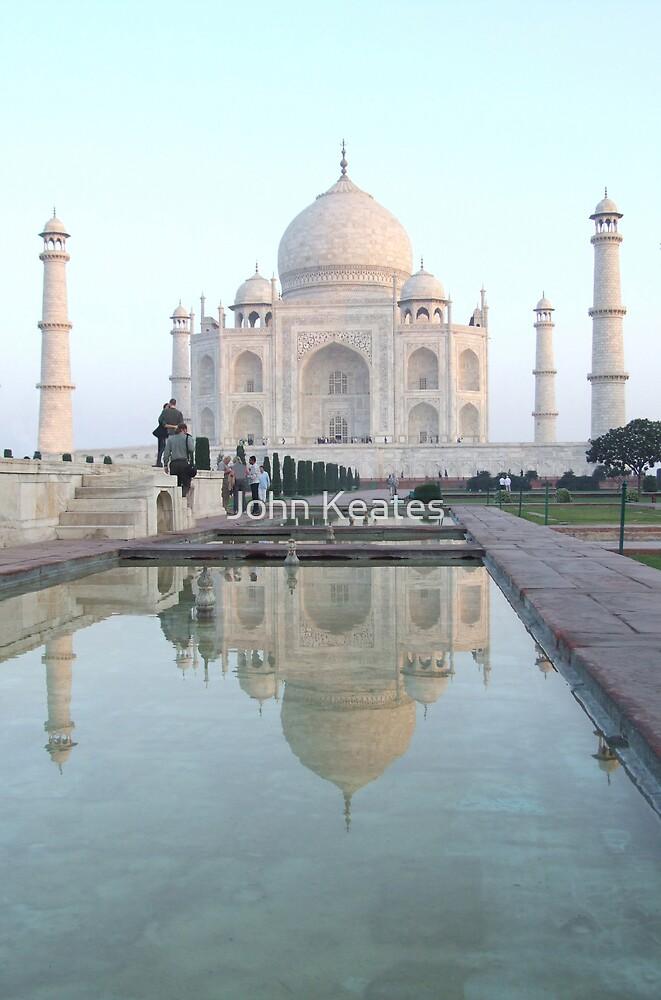 Taj Mahal, India by John Keates