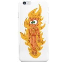 cat torch II iPhone Case/Skin
