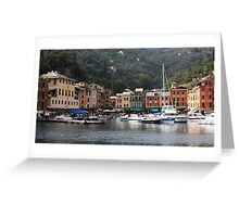 Peaceful Portofino Greeting Card