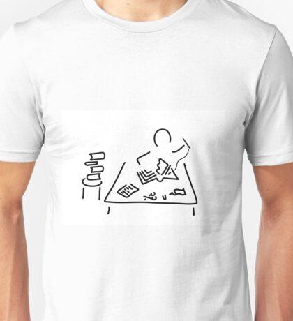 bookbinder restorer book Unisex T-Shirt