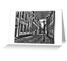 Old town Berlin-Spandau, Berlin Germany Greeting Card