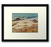 Pebbly Beach © Vicki Ferrari Photography Framed Print