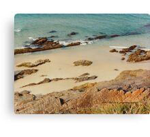 Pebbly Beach © Vicki Ferrari Photography Canvas Print