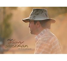 Marlboro Man © Vicki Ferrari Photography Photographic Print