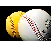 BaseBall Photographic Print