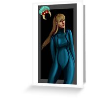 ZeroSuitSamus Greeting Card