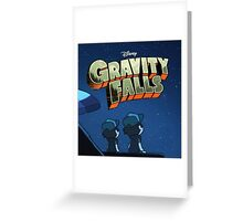 Gravity Falls - Counting Stars Greeting Card