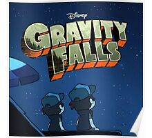 Gravity Falls - Counting Stars Poster