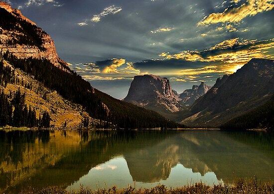 Square Top Mountain, Wyoming by Joyce  D. Z.