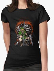 Zelda Game Of Thrones Womens Fitted T-Shirt