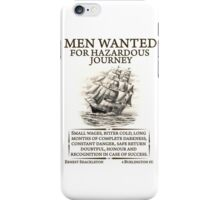 Men Wanted iPhone Case/Skin