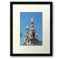 Steeple of Sts Peter and Paul Framed Print