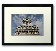 Lucca, Italy church Framed Print