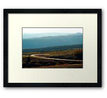 Boulder Mountain Colors Framed Print