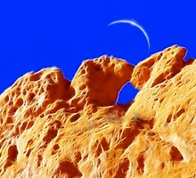 Kissing Camels Eclipse by Beverly Lussier