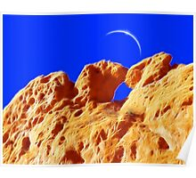 Kissing Camels Eclipse Poster