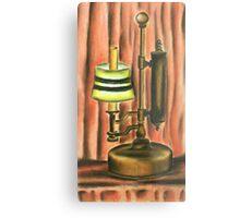 Antique lamp in colour Metal Print