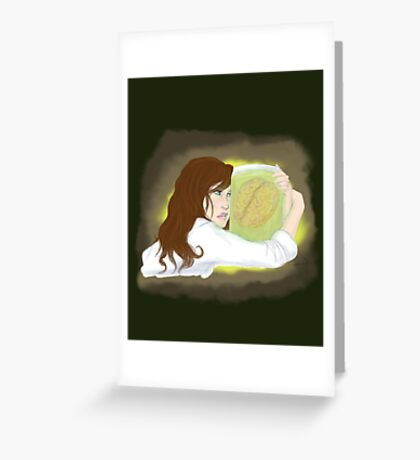 Bride of the Pickled Genius Greeting Card