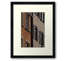 Urban Views II Framed Print