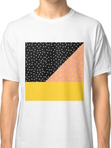 Polka Dot plus Peach Pit Classic T-Shirt