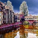 Pegnitz river, Nuremberg, Germany by vadim19