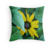 Sometimes, It's Not About the Flower Throw Pillow