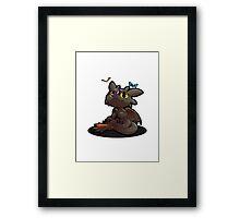 Chibi toothless ! Framed Print