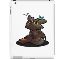 Chibi toothless ! iPad Case/Skin