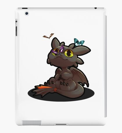 Chibi toothless ! iPad Case/Skin