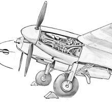 Mossie engine. by Woodie