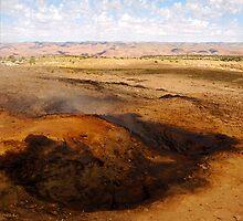 The burning hills by Brian Hendricks