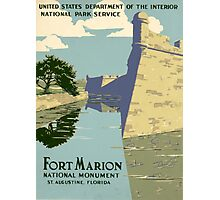 Fort Marion National Monument Photographic Print