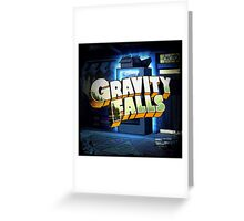 "Gravity Falls - ""Who Knows What Other Secrets Are Waiting To Be Unlocked..."" Greeting Card"