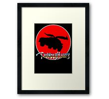 ThunderHawk Ho! Framed Print