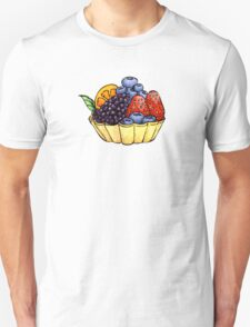 Fruit and Berry Dessert Cup Unisex T-Shirt