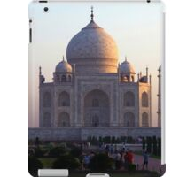 The Taj Mahal at sunrise. iPad Case/Skin