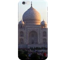 The Taj Mahal at sunrise. iPhone Case/Skin
