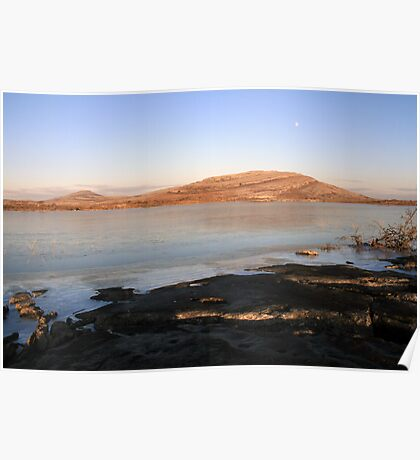 Mullaghmore in winter Poster