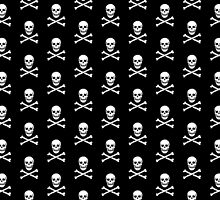 Skull-Pattern / Jolly Roger-Pattern by MrFaulbaum