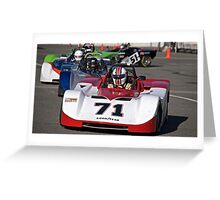 SCCA SRF Racing Event 3 Greeting Card