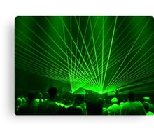 Global Lasers Canvas Print