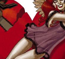 Harley quinn New 52 look Sticker