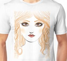Girl with red hair 2 Unisex T-Shirt