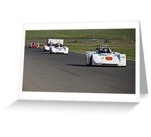 SCCA SRF Racing Event 2 Greeting Card