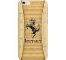 Ferrari ~ Wood Pine iPhone Case/Skin