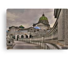 Pennsylvania State Capital Canvas Print